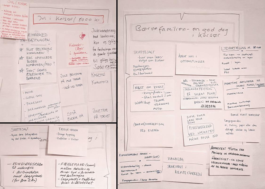 Workshop 2 om Korsør byudvikling